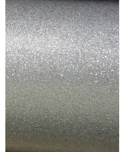 Silver Luxe Glitter Sparkle Wallpaper - Windsor Wallcoverings WWC012
