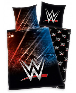 WWE Stadium Single Duvet Cover and Pillowcase Set
