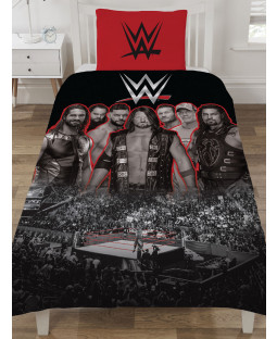 WWE Wrestling Ring Single Duvet Cover Set