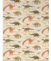 Dinosaur Wallpaper - Natural and Green (93633-10)