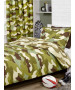 Army Camouflage Reversible Single Duvet Cover and Pillowcase Set
