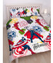 Marvel Avengers Mission Double Duvet Cover Set - Rotary Design