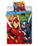 Marvel Avengers Single Cotton Duvet Cover Set - European Size