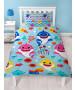 Baby Shark Rainbow Single Duvet Cover Set