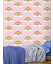 Rainbow Wallpaper Pink Belgravia 9991