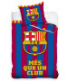 FC Barcelona Més Que Un Club Single Duvet Cover Set