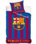 FC Barcelona Glow In the Dark Single Duvet Cover Set