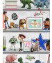 Disney Toy Story 4 Play Date Wallpaper Multi Graham & Brown 105828