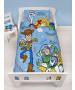 Toy Story Roar 4 en 1 juego de ropa de cama junior (edredón, almohada y fundas)
