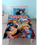 DC Super Hero Girls Single Duvet Cover and Pillowcase Set