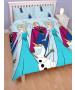 Disney Frozen Lights Double Duvet Cover and Pillowcase Set