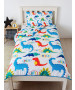 Ensemble de couette et taie d'oreiller Dinosaurs Coverless Single 4,5 Tog