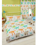 Dinosaur World Double Duvet Cover and Pillowcase Set