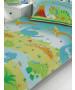 Roar Like a Dinosaur Junior Toddler Duvet Cover & Pillowcase Set