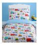 Bright Trucks Junior Duvet Cover and Pillowcase Set
