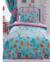 Mermaid Single Duvet Cover and Pillowcase Set