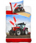 Tractor Single Reversible Duvet Cover and Pillowcase Set