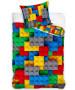 Building Blocks Juego de funda nórdica individual horizontal - Tamaño europeo