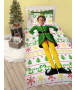 Buddy The Elf Single Duvet Cover and Pillowcase Set