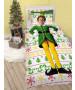 Buddy The Elf Single Duvet Cover and Pillowcase Set
