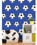 Goal Football Wallpaper - Dark Blue 9721 Belgravia Decor