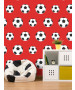 Goal Football Wallpaper - Red 9720 Belgravia Decor