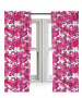 Pink Camouflage Curtains