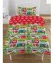 The Grinch 12 Days of Christmas Single Duvet Cover Set