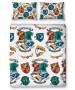 Harry Potter Grid Double Duvet Cover and Pillowcase Set