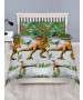 Jurassic World Jungle Double Duvet Cover and Pillowcase Set