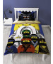 Lego Ninjago Movie Guru Single Duvet Cover and Pillowcase Set