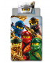 Lego Ninjago Lightning Single Duvet Cover Set