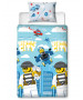 Lego City On The Run Single Duvet Cover Set