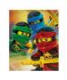 Couverture en molleton Lego Ninjago