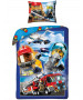 Lego City Single Cotton Duvet Cover Set - European Size