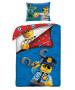 Lego City Single Duvet Cover and Pillowcase Set - European Size
