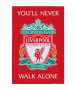 Liverpool FC YNWA Coral Blanket