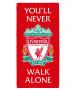 Liverpool FC YNWA Crest Towel