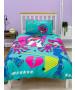 LOL Surprise OMG Beat Rotary Single Duvet and Pillowcase Set