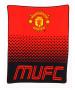 Manchester United FC Fade Fleece Blanket