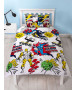 Marvel Comics Scribble Single Duvet Cover Set