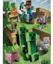 Minecraft Battle Fleece Blanket