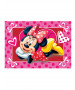 Minnie Mouse Hearts Floor Mat Rug 40cm x 60cm