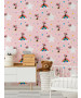 Disney Minnie Mouse Rainbow Wallpaper Pink Graham & Brown 108592