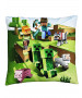 Minecraft Farm Square Cushion