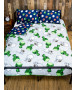 Minecraft Build Coverless Double 10.5 Tog Quilt and Pillowcase Set