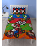 Nintendo Mario Champs Single Duvet Cover Set - Rotary Design