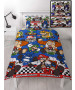 Nintendo Mario Racer Single Duvet Cover and Pillowcase Set