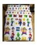 Nintendo Super Mario Lineup Double Duvet Cover Set