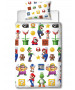Nintendo Super Mario Lineup Single Duvet Cover Set